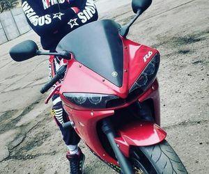 biker, YAMAHA, and r6 image