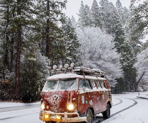 winter and vw image