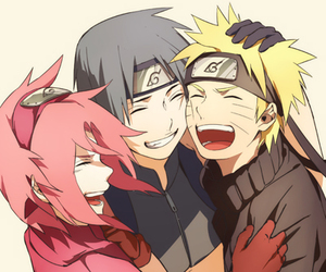 naruto, sai, and sakura image