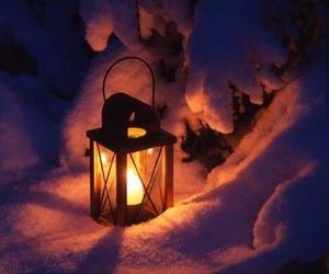 beautiful, lantern, and light image