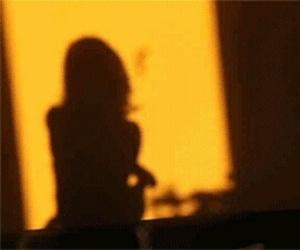 yellow, aesthetic, and shadow image