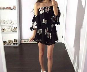 black, cool, and outfits image