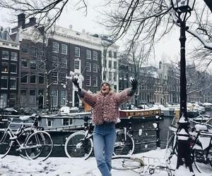amsterdam, black, and fashion image