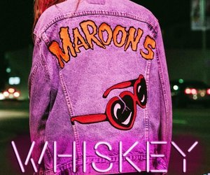 maroon 5, whiskey, and adam levine image