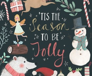 christmas, winter, and jolly image