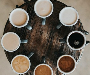 coffee, life, and hot drinks image