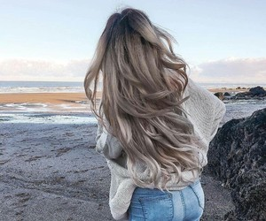 beach, beauty, and pretty image