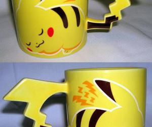 pikachu, pokemon, and cup image