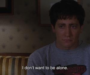 alone, donnie darko, and quotes image