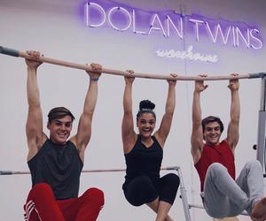 ethan dolan, dolan twins, and grayson dolan image