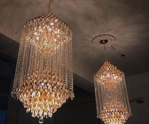 lights and chandelier image