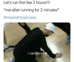 exercise, kpop, and memes image