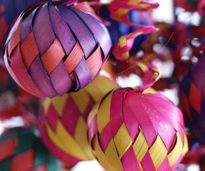 decoracion, navidad, and esferas image