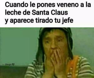 meme, santa claus, and memes en español image
