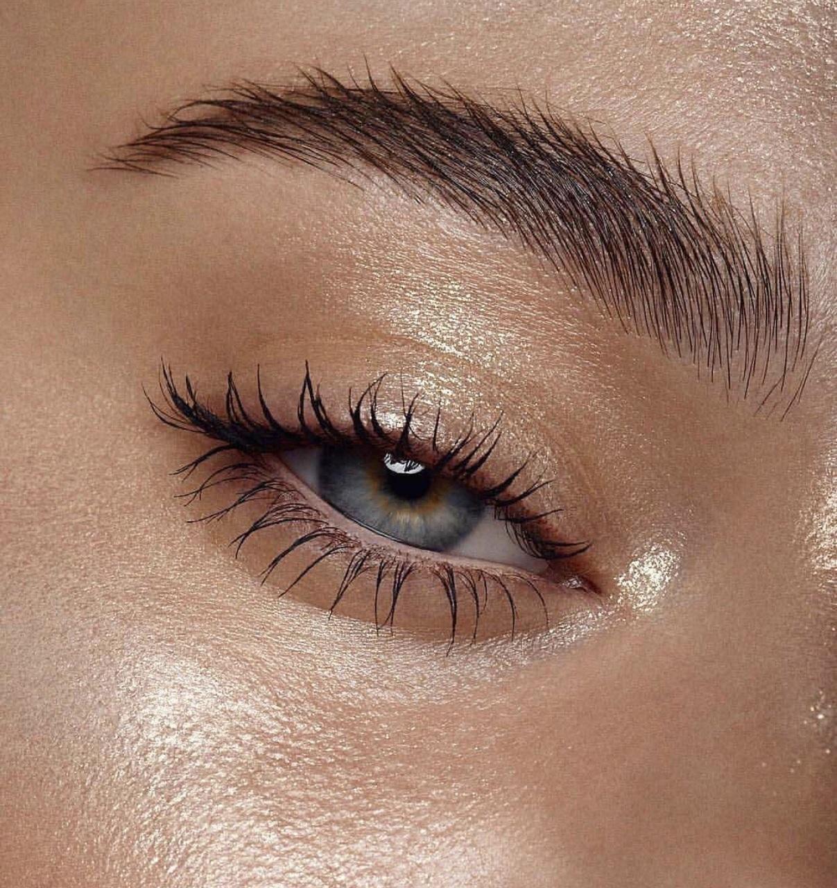eye, eyebrows, and beauty image