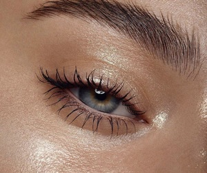 eye, beauty, and eyes image