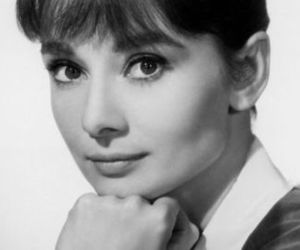 audrey hepburn and retro image