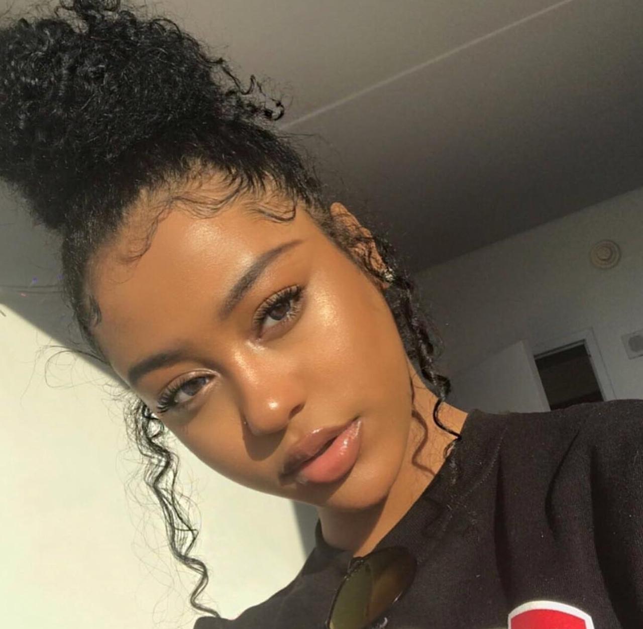 Pretty black girl picture