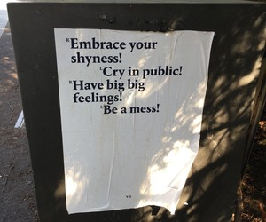 quotes, cry, and shy image