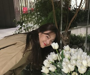 asian, flower, and kfashion image