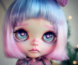 chic, doll, and eyes image