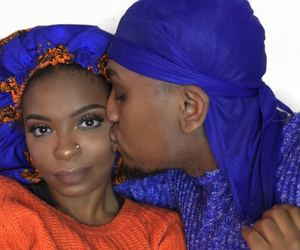 blackLove, blue, and bonnet image