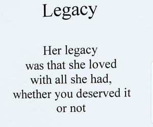 legacy and life image
