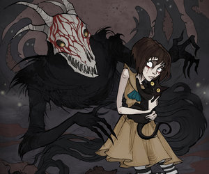 game, fran bow, and mr. midnight image