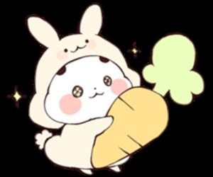 bunny, kawaii, and transparent image