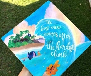 cap, graduation, and lilo image