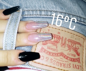 levis, nails, and negro image