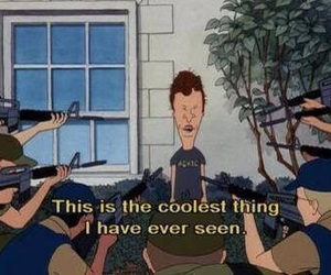 grunge, beavis and butthead, and quotes image