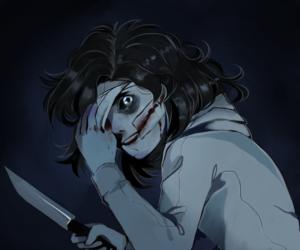 creepypasta, jeff the killer, and jeffthekiller image
