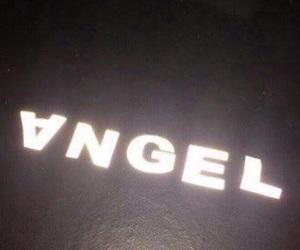 angel, black, and dark image