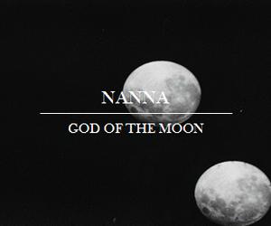 ancient, god, and moon image