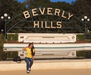 Beverly Hills, glasses, and hills image