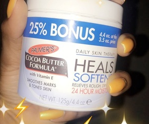 cocoa butter, nails, and skincare image