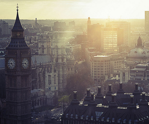 london, city, and Big Ben image