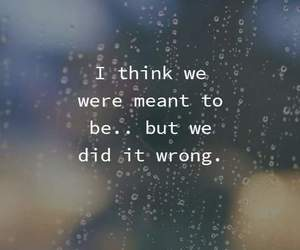 quotes, couple, and sad image