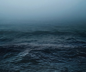 sea, ocean, and dark image