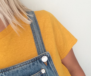 yellow, tumblr, and aesthetic image
