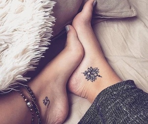 tattoo, feet, and ink image