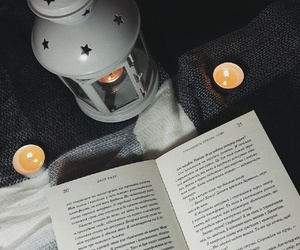book, books, and candle image