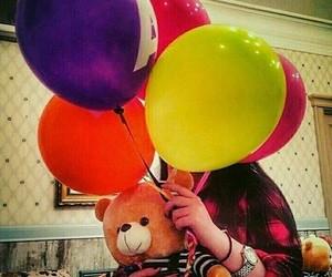 teddy and ballons image
