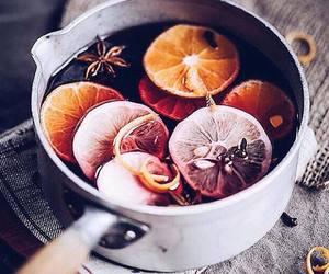 autumn, mulled wine, and Cinnamon image