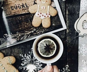 coffee, Cookies, and happy new year image