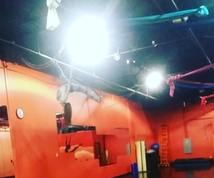 aerial, contortion, and hoop image