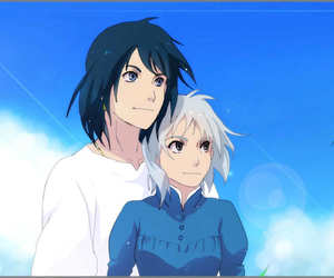 howl's moving castle, studio ghibli, and howl x sophie image
