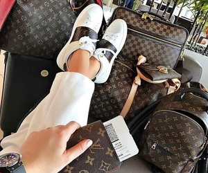 Louis Vuitton, travel, and luxury life image