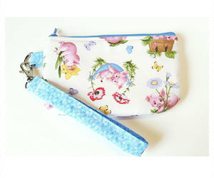 accessories, fashion, and zipper pouch image